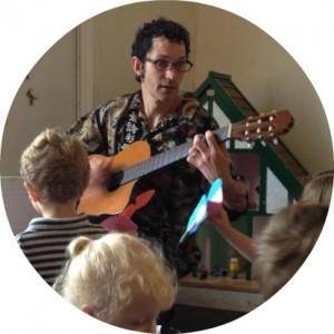 Damon Preschool Guitar Picture CIRCLE